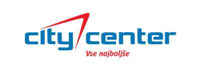 City Center logo - marketing in oglaševanje