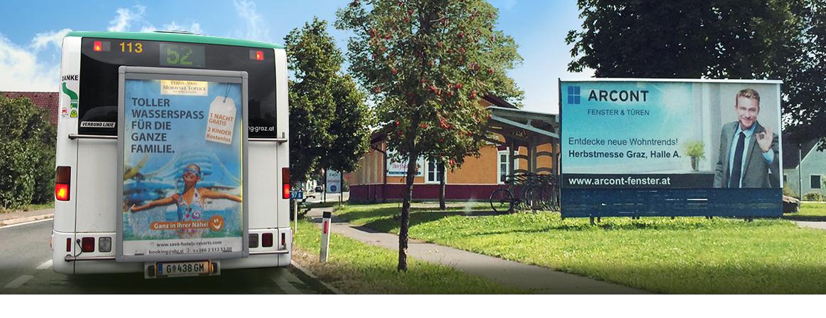Sms marketing, oglaševanje d.o.o.| oglaševanje na avtobusih v avstriji, na avstrijskem trgu, v grazu, celovcu