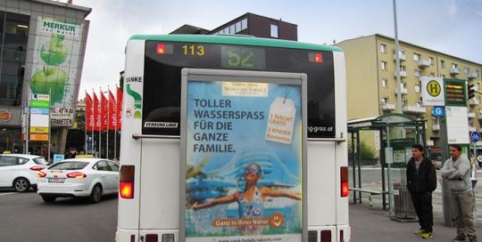 Oglaševanje na avtobusih | Sms Marketing d.o.o. | Oglas na avstrijskem trgu - Terme 3000