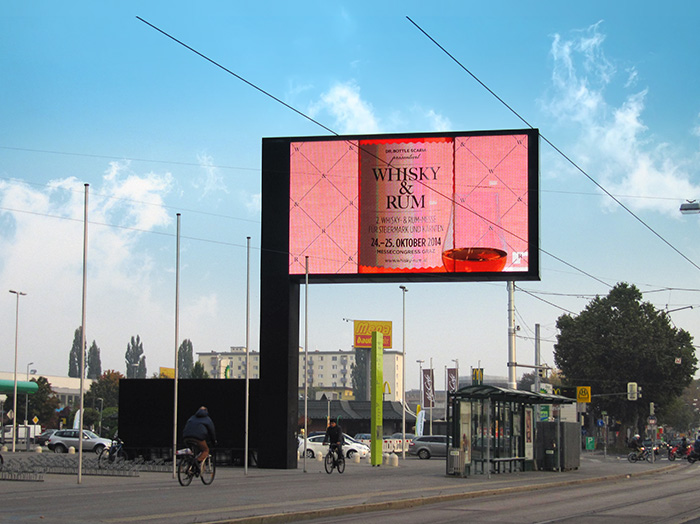 Advertising on digital displays | Sms Marketing d.o.o. | Advertisement on the Austrian market