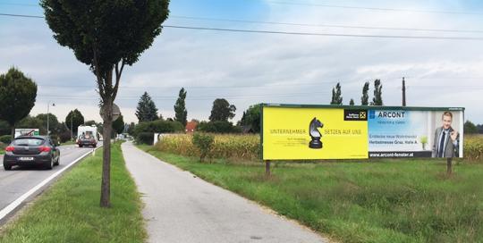 Oglaševanje na jumbo plakatih | Sms Marketing d.o.o. | Oglas na avstrijskem trgu - Arcont
