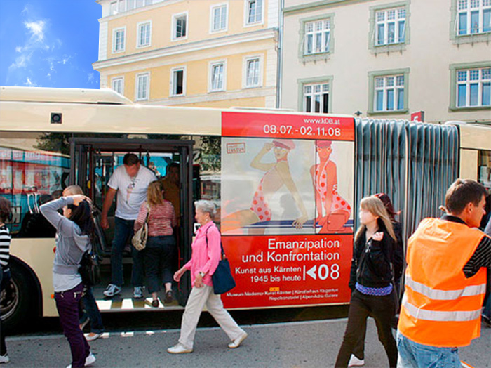 Advertising on buses in Austria | Sms Marketing d.o.o. | Advertising on the Austrian market - K08
