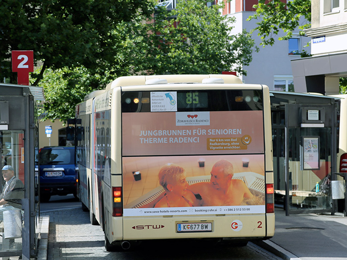 Advertising on buses in Austria | Sms Marketing d.o.o. | Advertising on the Austrian market - Terme Radenci