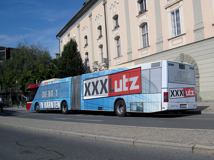 Advertising on buses in Austria | Sms Marketing d.o.o. | Advertising on the Austrian market - XXXLutz