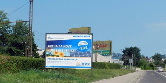Oglaševanje na zunanjih oglasnih površinah | Sms Marketing d.o.o. | Oglas na jumbo plakatu - ece