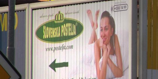 Oglaševanje na zunanjih oglasnih površinah | Sms Marketing d.o.o. | Oglas na roto panoju