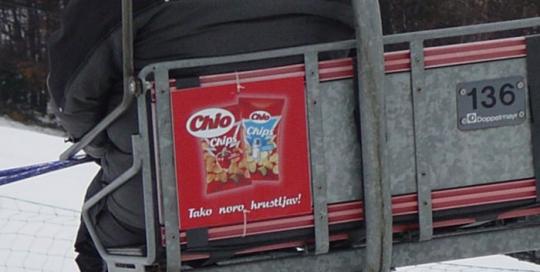 Oglaševanje na smučiščih | Sms Marketing d.o.o. | Oglas na sedežnici - Chio
